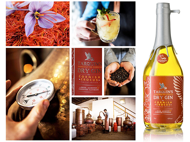 Featured Image for Tarquin's Crocus Gin is for the gin lover who has it all