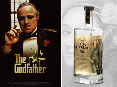 """Featured Image for """"The Godfather"""" director has his own gin and it's dedicated to the world's first computer programmer"""