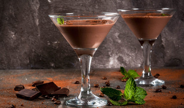 Featured Image for Chocolate Gin Cocktail with McQueen Chocolate Mint Gin