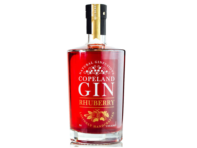 Best flavoured gin - Rhuberry Gin
