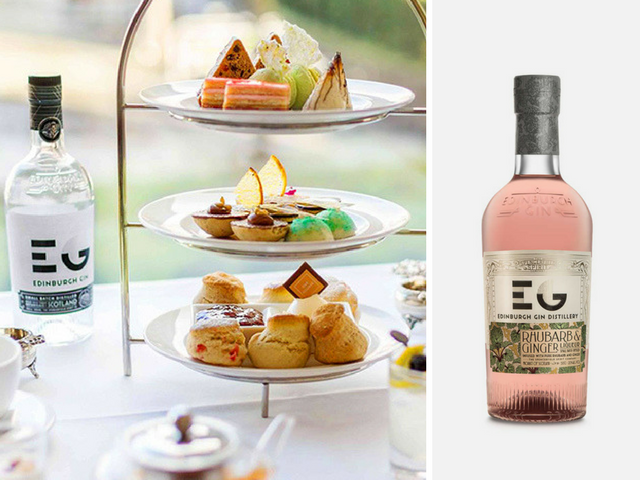 Featured Image for Edinburgh Gin afternoon tea is here and it's delightful