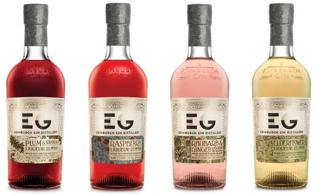 Best flavoured gin - Edinburgh Gin Liqueurs