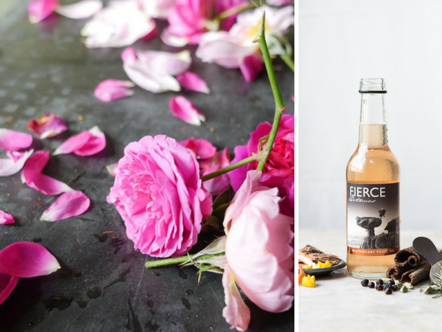 Featured Image for Fierce Botanics pink tonic is made from English roses & we're smitten