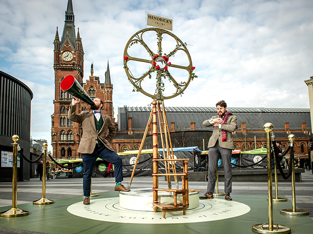 Featured Image for Want a free Hendricks G&T? Then climb this contraption today only
