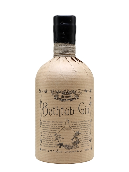 gin ice cream with Ableforth's Bathtub Gin.
