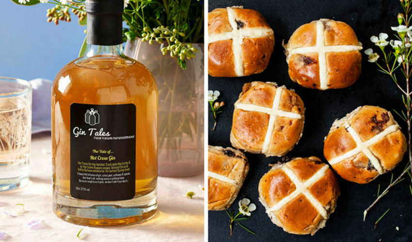 Featured Image for Hold On to Your Gin Easter Eggs, Hot Cross Bun Gin Is Here