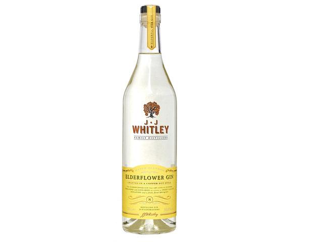 Best flavoured gin - J.J Whitley Elderflower Gin
