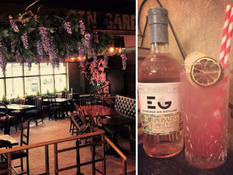 Featured Image for This new gin bar has its very own garden growing inside