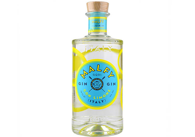 Best flavoured gin - Malfy Con Limone