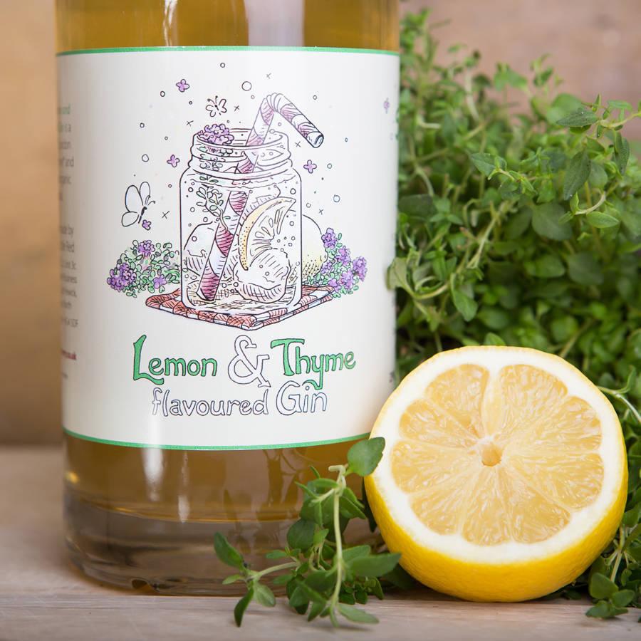 As well as elderflower gin, the brand also make a delightful lemon & thyme version