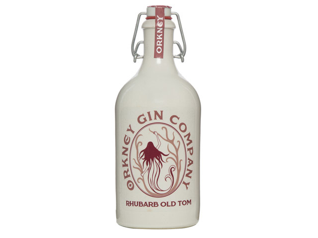 Best flavoured gin - Orkney Gin Company Rhubarb Old Tom