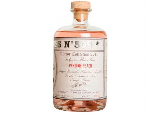 Best flavoured gin - Buss No 509 Persian Peach
