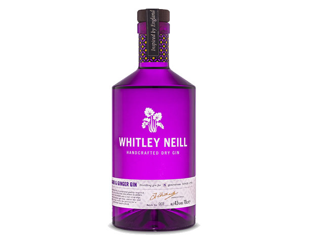 Best flavoured gin - Whitley Neil Rhubarb & Ginger Gin