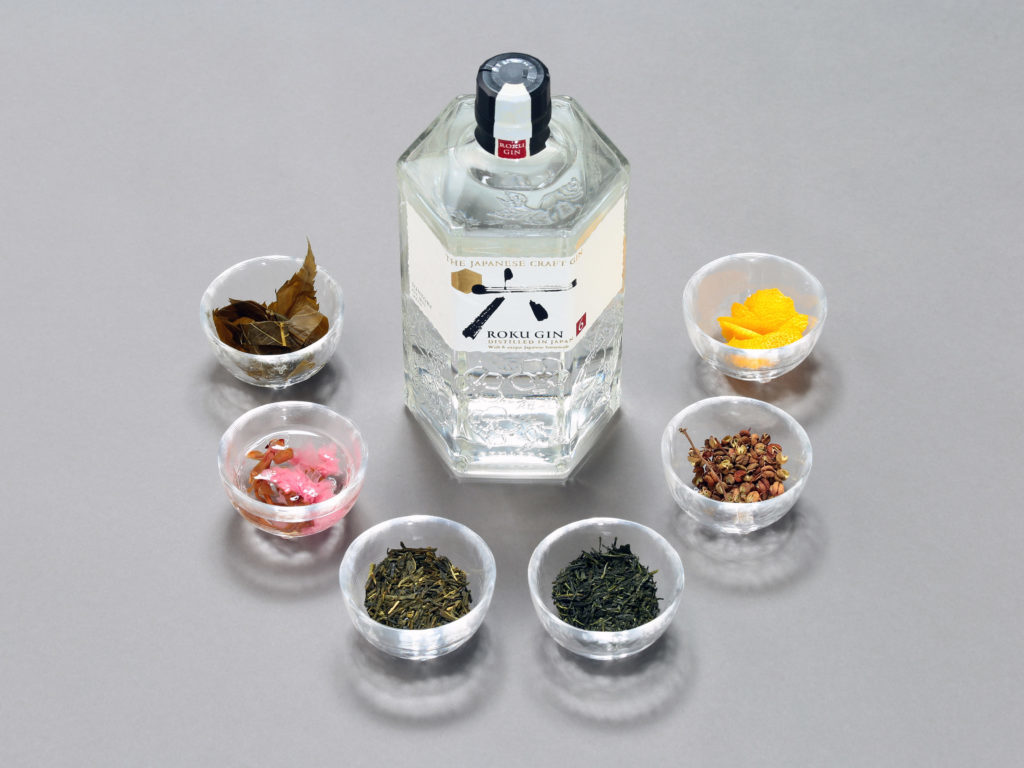 Suntory ROKU GIN with 6 Japanese botanicals