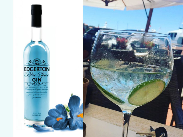 Featured Image for Blue spice flavoured gin might be the perfect drink