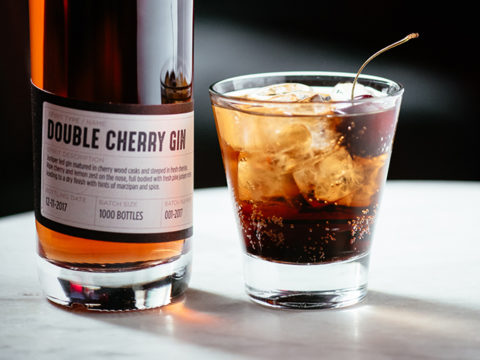 Featured Image for Cherry Gin and Coke with Double Cherry Gin