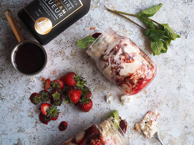 Featured Image for Gin Eton Mess, with Carthy & Black Original Gin Cream