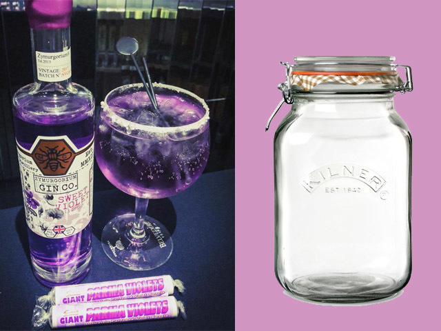 Featured Image for Parma violet gin cocktails are the latest trend lighting up the internet