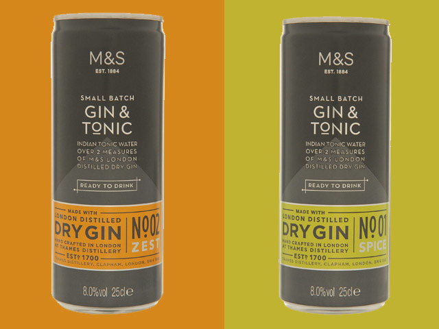 Featured Image for Marks & Spencer launches premixed gin cans