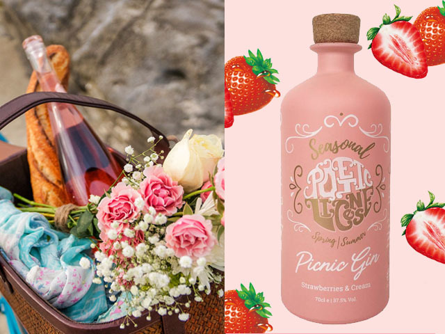 Featured Image for Strawberries and Cream Picnic Gin is the go-to tipple for sunny days