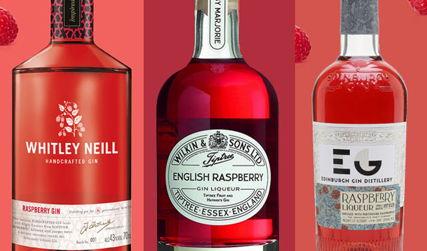 Featured Image for 6 Raspberry Gins That Are Fruity Heaven