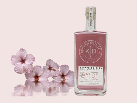 Featured Image for Kinrara Hibiscus Gin is the most luxurious pink gin for summer