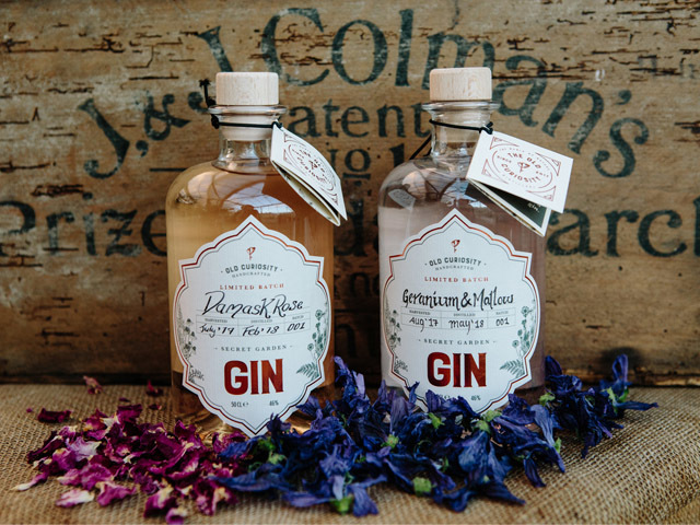 Featured Image for Old Curiosity Distillery has launched two limited edition colour changing gins