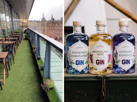Featured Image for The Old Curiosity gin terrace at Harvey Nichols is open for the summer