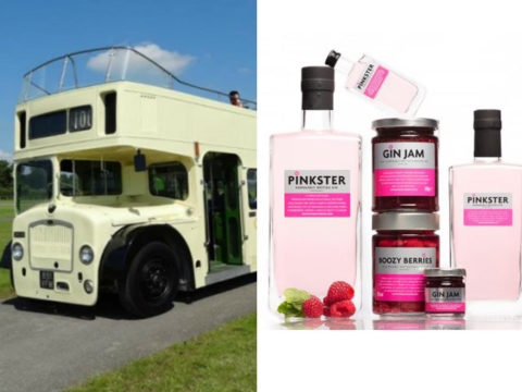 Featured Image for A pink gin bus is coming in case you fancied sipping on Pinkster in style