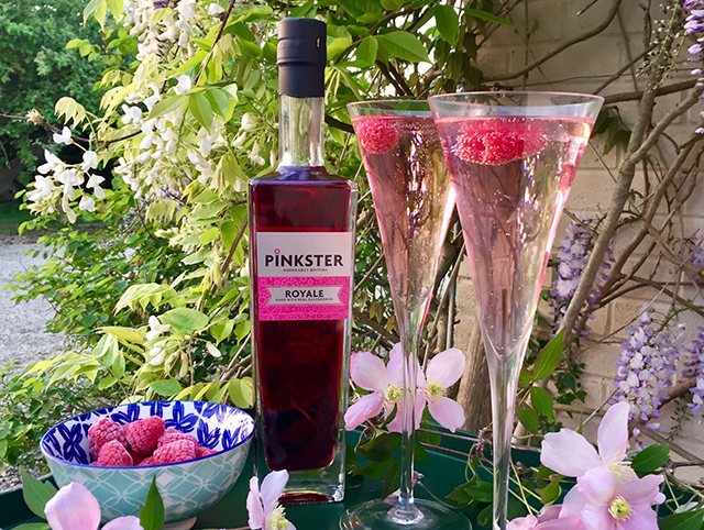 Featured Image for The new Pinkster Royale is crafted from gin-soaked raspberries