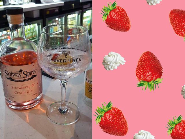 Featured Image for Strawberry & Cream Gin is the perfect summer treat
