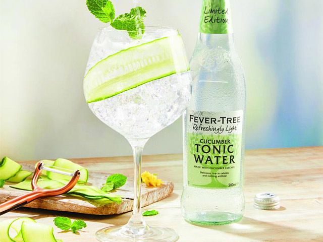 Featured Image for Fever-Tree has just launched a new light cucumber tonic water at Sainsbury's