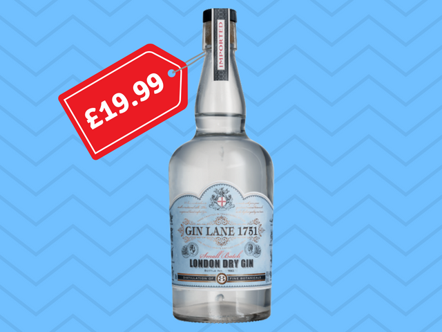 Featured Image for B&M is selling bottles of sold out Aldi gin for under £20