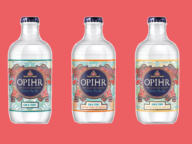 Featured Image for Opihr unveils new ready to drink gin and tonics