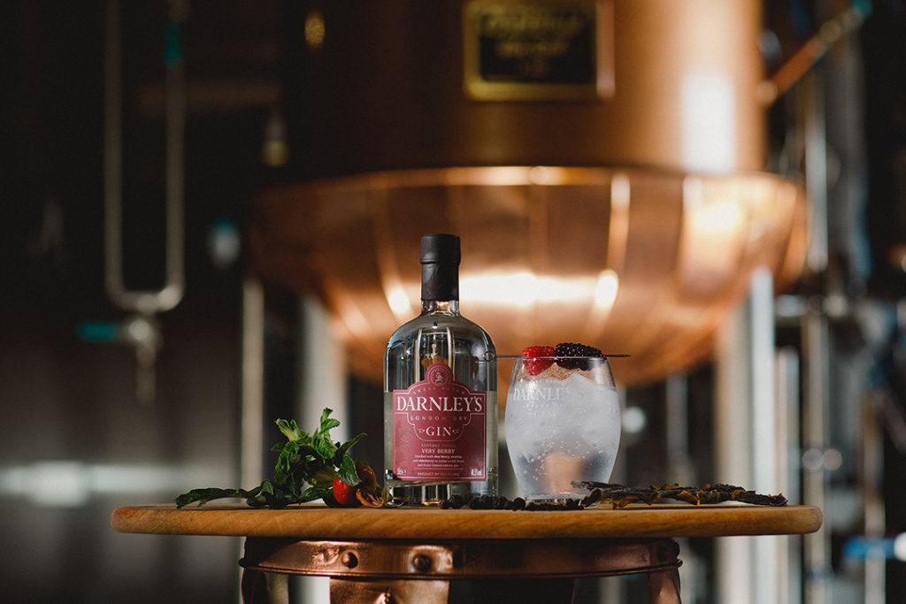 darnley's very berry gin