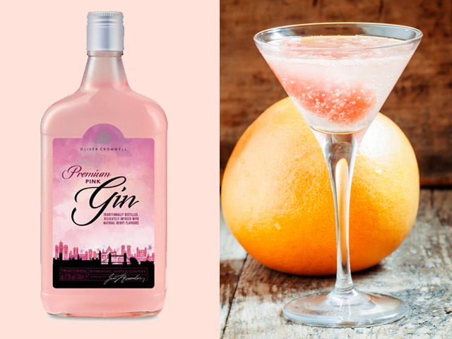 Featured Image for Pink Gin Martini, with Oliver Cromwell Pink Gin