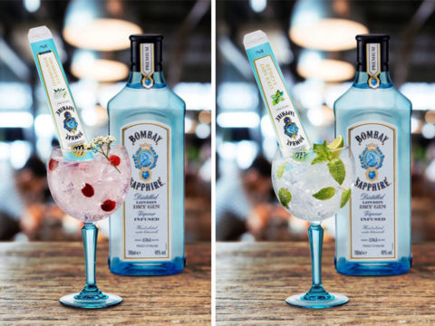 Featured Image for Bombay Sapphire has launched the most brilliant ice lolly garnishes
