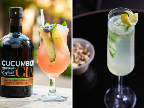 Featured Image for Two refreshing summer cocktails with Cucumber Gin