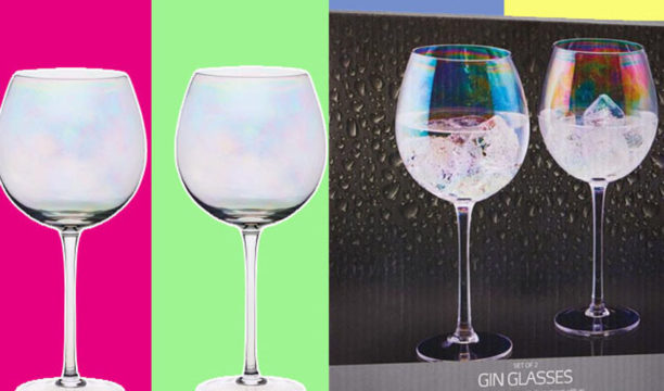 Featured Image for These Rainbow Gin Glasses Will Give Your G&T a Multi-Coloured Shine