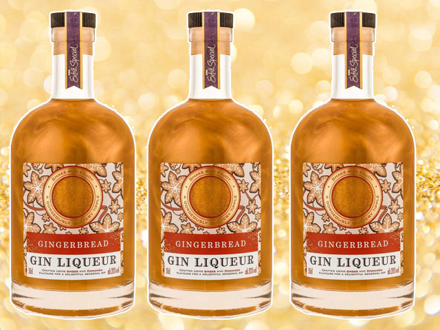 Featured Image for Asda is now selling a glittery Gingerbread Gin Liqueur