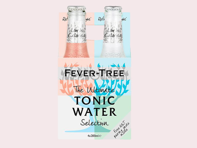 fever tree tonic selection