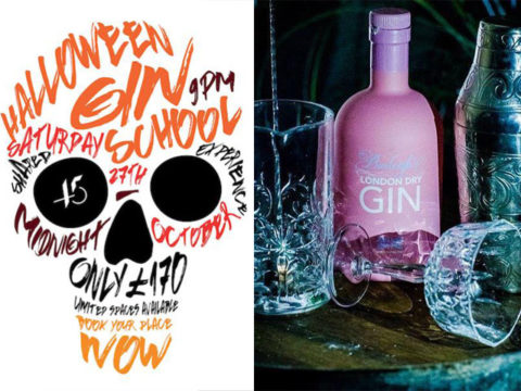 Featured Image for This Halloween Gin School is simply spooktacular