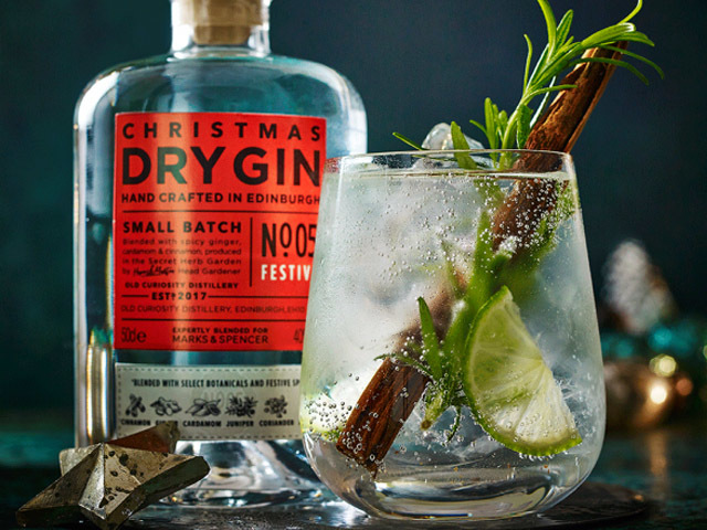 Featured Image for Marks and Spencer are launching a Christmas gin
