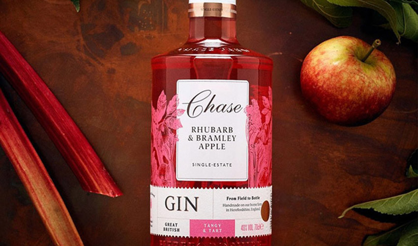 Featured Image for Chase Distillery Have a Rhubarb & Bramley Apple Gin Just Perfect for Autumn
