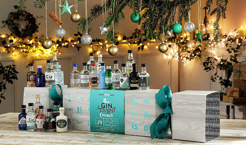 Featured Image for You Can Buy a Giant Christmas Cracker Full of Gin