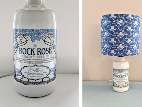 Featured Image for Turn those stunning empty gin bottles into your next favourite lamp