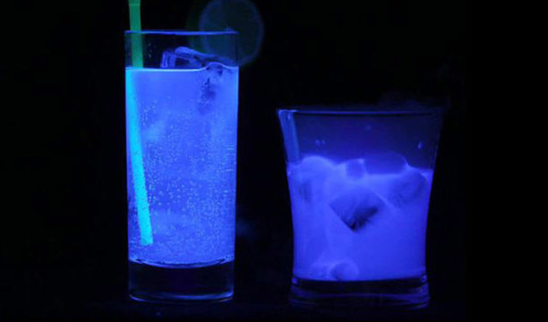 Featured Image for This Glow in the Dark G&T Is the Ultimate Party Cocktail