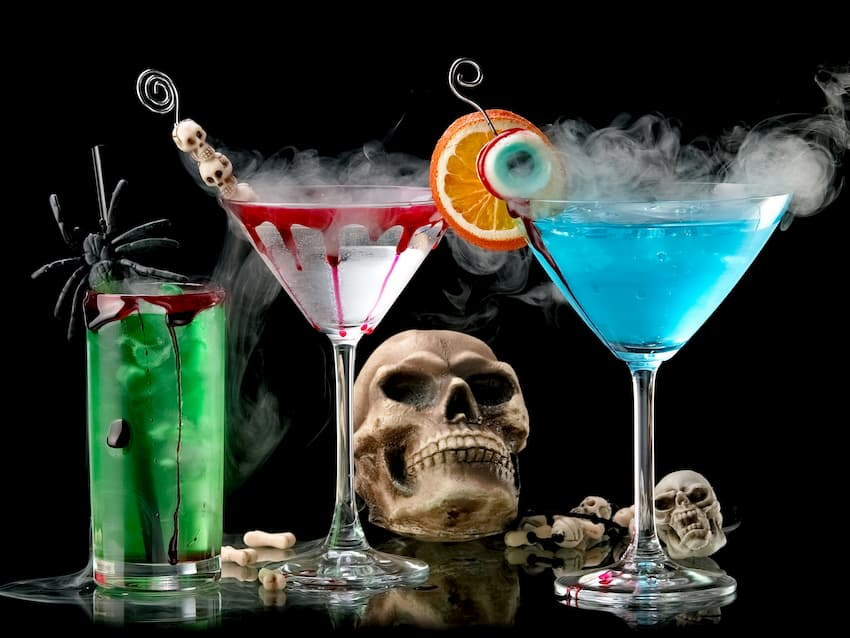 Featured Image for The 11 Spookiest Halloween Cocktails You Can Make with Gin