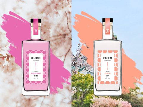 Featured Image for Kuro Gin launches new range of flavoured gin