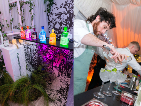 Featured Image for Inside the launch of Lidl's House of Hortus pop-up gin event